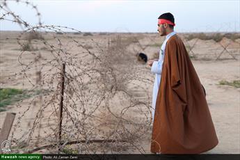 تبلیغ با لباس خاکی در متفاوت ترین سفر عیدانه