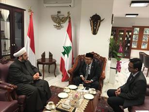 اعلام آمادگی تجمع علمای مسلمان لبنان برای همکاری با علمای اندونزی