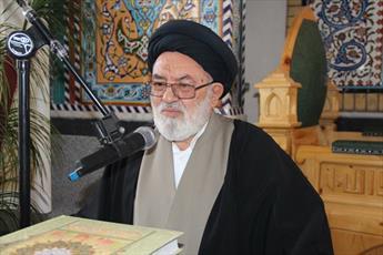 مراسم اربعین درگذشت تولیت مدرسه علمیه خواهران  آبیک برگزار می شود
