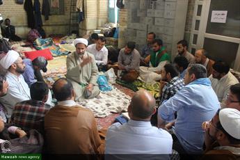 تصاویر/ اعتکاف طلاب غیرایرانی در مسجد امام حسن عسکری(ع) قم