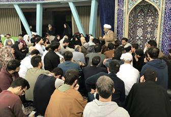 برگزاری مراسم معنوی اعتکاف در مسجد امام علی(ع) هامبورگ +تصاویر
