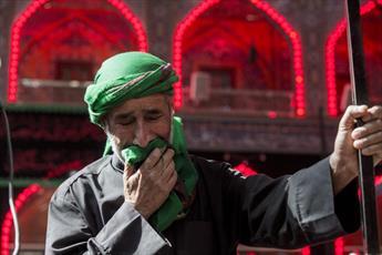 مراسم سوگواری وفات حضرت زینب(ع) در عتبات مقدس عراق برگزار شد+ تصاویر