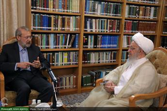 نظرات دکتر لاریجانی در مسائل سیاسی راهگشا بود