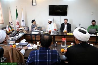تصاویر/ بازدید رئیس دانشگاه ادیان و مذاهب از رسانه رسمی حوزه