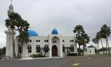 مراسم روز درهای باز در مسجد ادینبورگ تگزاس برگزار شد