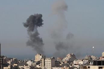 رژیم صهیونیسی غزه را بمباران کرد