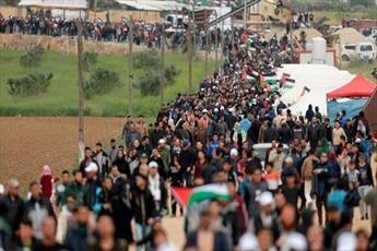 """تظاهرات """"بازگشت"""" توجه جهان را به فلسطین جلب کرد"""