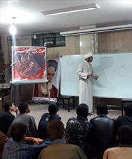بازدید دانش آموزان قروه از مدرسه علمیه امام صادق(ع)