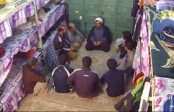 فیلم/ فعالیت های روحانیون در زندان ها