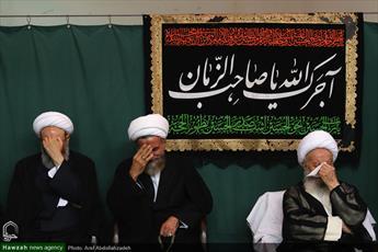تصاویر/ مراسم سوگواری شهادت امام کاظم(ع) در بیوت مراجع و علما