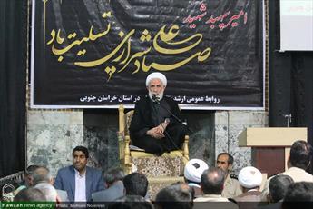 تصاویر/ مراسم گرامیداشت شهید صیاد شیرازی  در مسجد امام حسین (ع) بیرجند