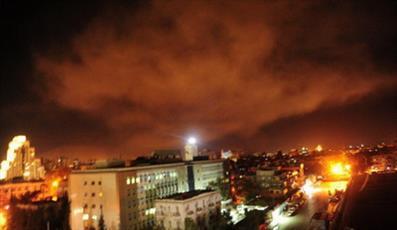 حمله به سوریه ناشی از شکست غربی در مقابل جبهه مقاومت یود