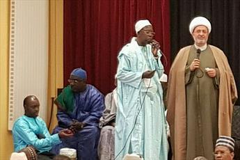 رئیس طریقت صوفی سنگال از  مرجعیت  آیت الله العظمی سیستانی تجلیل کرد