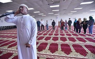 مسجد کانتیکت، نخستین مراسم درهای باز را برگزار کردند + تصاویر