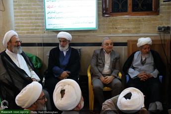 تصاویر/ مراسم بزرگداشت شهید لطفی نیاسر در مسجد سلماسی قم