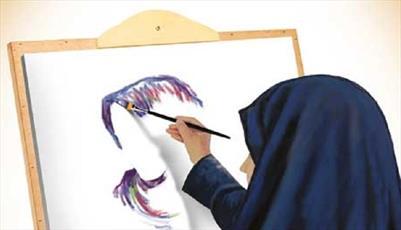 برگزاری مسابقه نمایشگاه نقاشی در مدرسه بنت الرسول(ص) الشتر