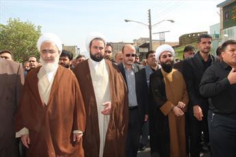 مرحوم حجت الاسلام موسوی  مواضع انقلابی صریح داشت
