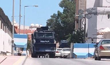 تشدید محاصره نظامی منزل آیت الله عیسی قاسم در بحرین + تصاویر