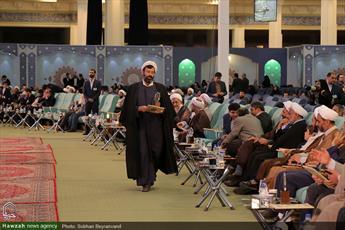 ارایه دستاوردها و فعالیت های قرآنی معاونت آموزش حوزه در حاشیه مسابقات قرآن