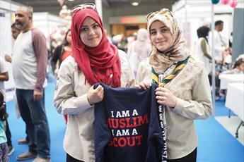 تصاویری از سومین نمایشگاه «سبک زندگی اسلامی» در لندن