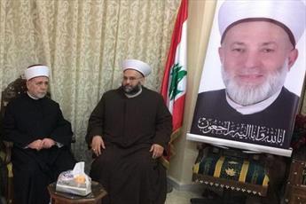 مفتی دمشق از دانشکده علوم اسلامی لبنان بازدید کرد