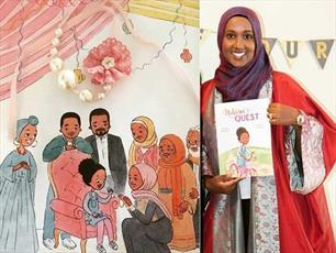 کتب کودکان مسلمان سیاه پوست در کانادا  به شهرت رسیدند