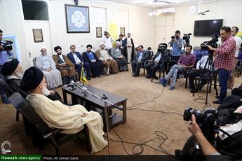 تصاویر/ نشست خبری همایش بین المللی آیت الله قاضی نورالله شوشتری در اهواز