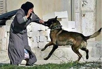 نژادپرستان آلمانی سگشان را به جان زن و مرد مسلمان انداختند