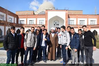 تصاویر/ اردوی آشنایی دانش آموزان مدارس تهران با مدرسه علمیه امام حسن مجتبی(ع) لواسان