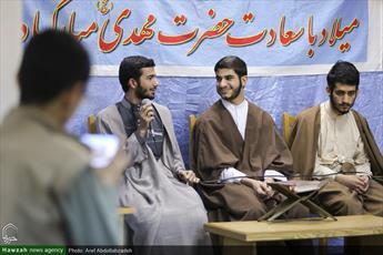 تصاویر/ محفل قرآنی در مدرسه علمیه امام رضا(ع)
