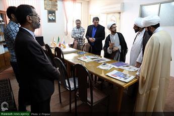 تصاویر/  بازدید مدیر حوزه علمیه استان تهران از رسانه رسمی حوزه