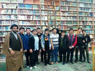 آشنایی دانش آموزان تهرانی با حوزه علمیه عبدالعظیم حسنی(ره) + عکس