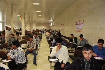 ۲۵۰ نفر برای ورود به حوزه علمیه قزوین با یکدیگر رقابت کردند