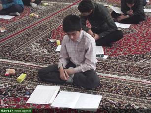 تصاویر/ آزمون ورودی حوزه علمیه کاشان