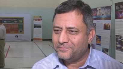 معلمان شهر ویدزور کانادا برای اولینبار از یک مسجد بازدید کردند