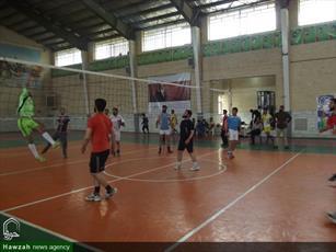 تصاویر/ مسابقات ورزشی  مدارس علمیه کاشان