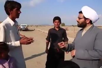 فیلم/ فعالیت های فرهنگی یک روحانی در مناطق محروم کرمان