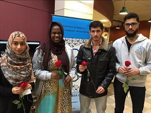 تصاویری از هفته بیداری اسلامی در دانشگاه کالیفرنیا در سن دیه گو
