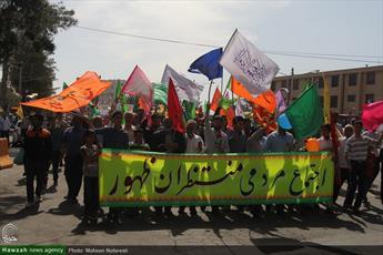 تصاویر/ اجتماع مردمی منتظران ظهور در خراسان جنوبی