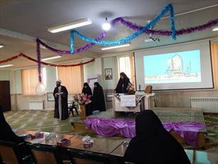 اساتید حوزه  خواهران شهرستان بویین زهرا تجلیل شدند