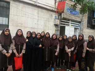 آشنایی دانش آموزان دختر تهرانی با فضای حوزه خواهران+ عکس