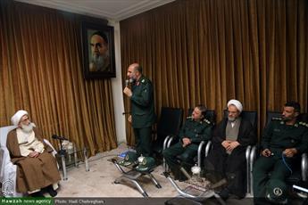 تصاویر/ دیدار رئیس سازمان بسیج سازندگی کشور با آیت الله العظمی نوری همدانی