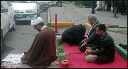 آتش به اختیار کارگر شهرداری مشهد + عکس