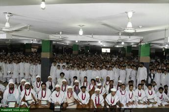 تصاویر/ گرامیداشت روز معلم در حوزه علمیه عروة الوثقی لاهور پاکستان