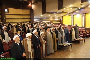 تصاویر/ تجلیل از اساتید حوزه علمیه مازندران