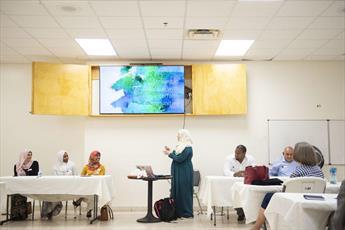 تصاویری از روز درهای باز در مسجد باتن رژ در لوئیزیانای آمریکا