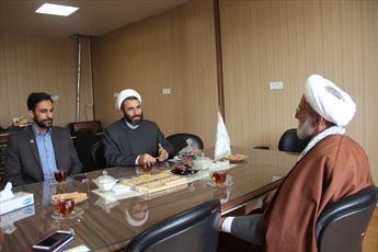 تصاویر/ بازدید مدیر حوزه  قزوین از دبیرخانه کانون های مساجد