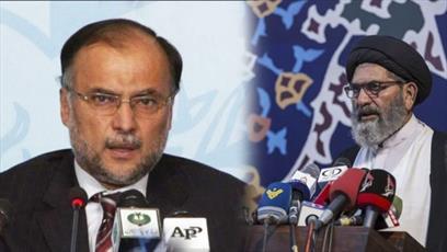 رئیس شورای علمای شیعه پاکستان حمله به وزیر کشور را محکوم کرد