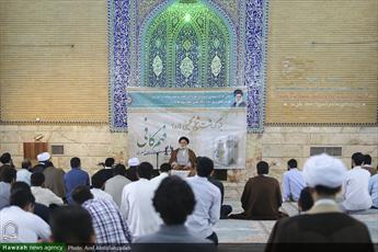 تصاویر/ مراسم بزرگداشت شیخ کلینی در مدرسه علمیه معصومیه قم