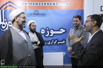 مدیر حوزه علمیه خوزستان  از خبرگزاری حوزه بازدید کرد